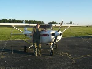 Nach dem ersten eigenen Flug
