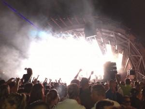 Bühne im Ushiaia, Ibiza