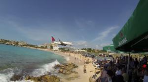 Endanflug St. Maarten