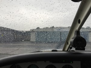 Schlechtes Wetter in Lübeck
